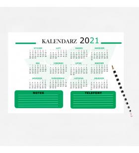 KALENDARZ - BIUWAR - od 5 szt.